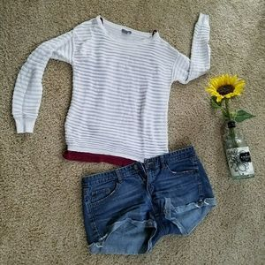 Light Ribbed Sweater